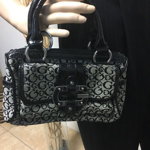 Guess Logo Mini Purse Handbag - Black